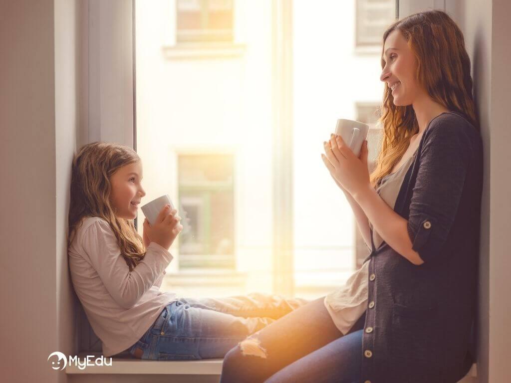 come motivare i figli allo studio - DIALOGO MAMMA E FIGLIA