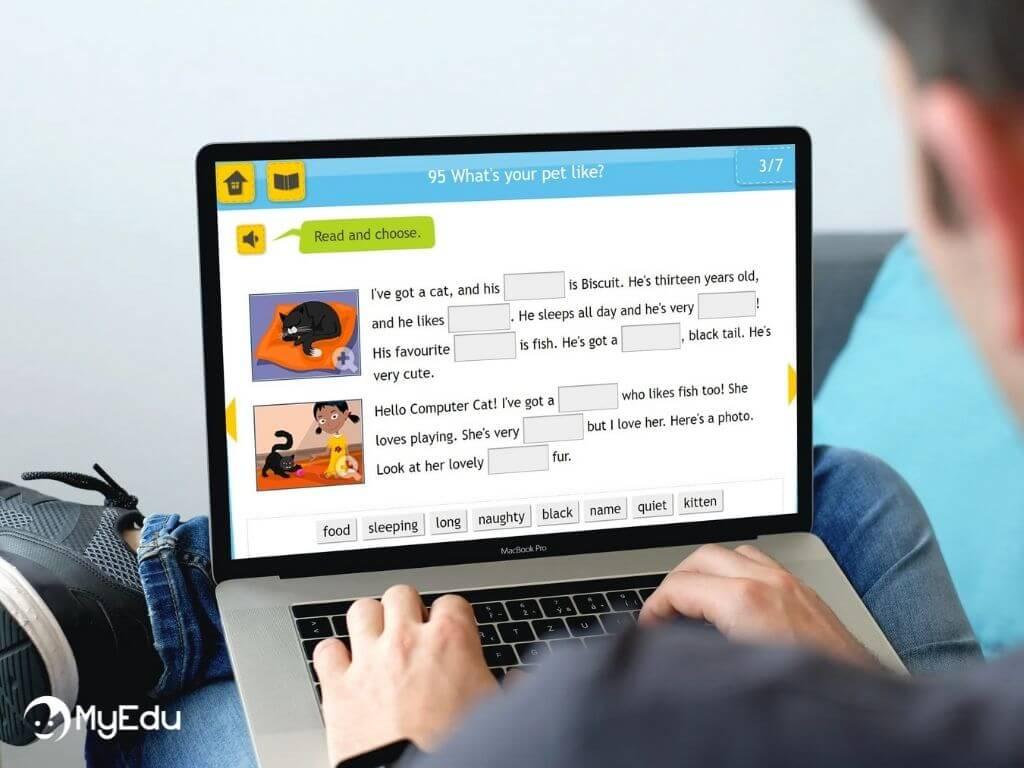MyEdu_compiti inglese online