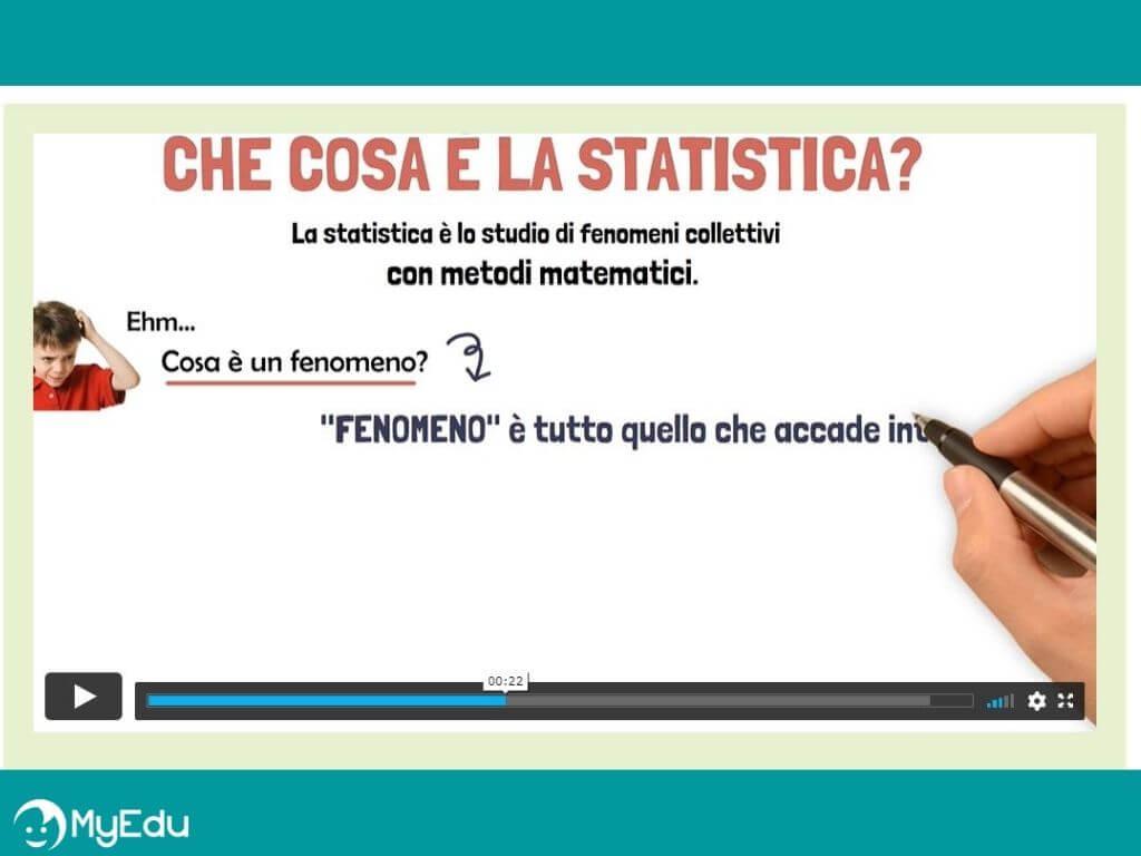 MyEdu Corso di statistica