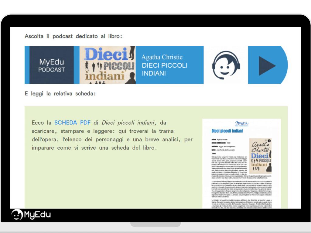 MyEdu_scheda libro e podcast da scaricare