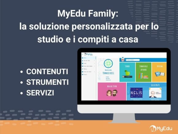 piattaforma didattica digitale myedu family per ragazzi