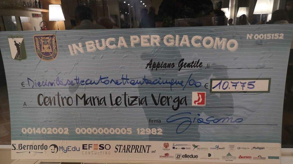 assegno MyEdu comitato Maria Letizia Verga